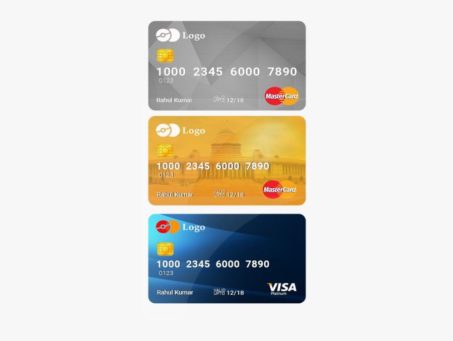 Clip Art Credit Card Psd - Transparent Background Credit Card Png, Transparent Clipart