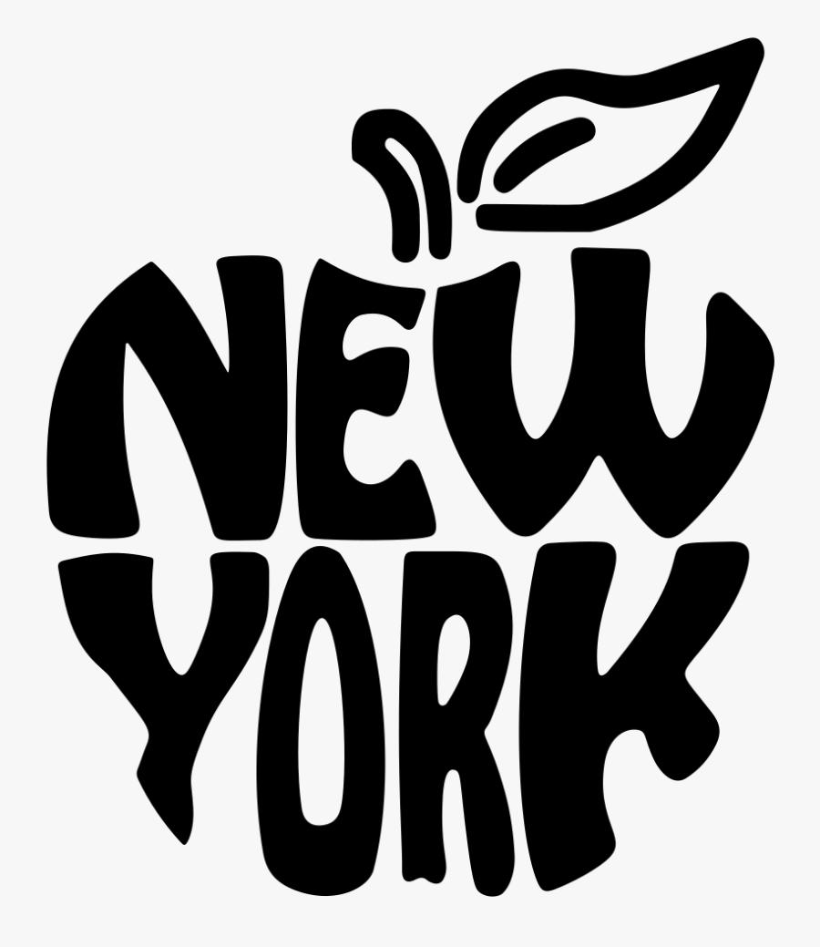 New York Big Apple - New York Big Apple Png, Transparent Clipart
