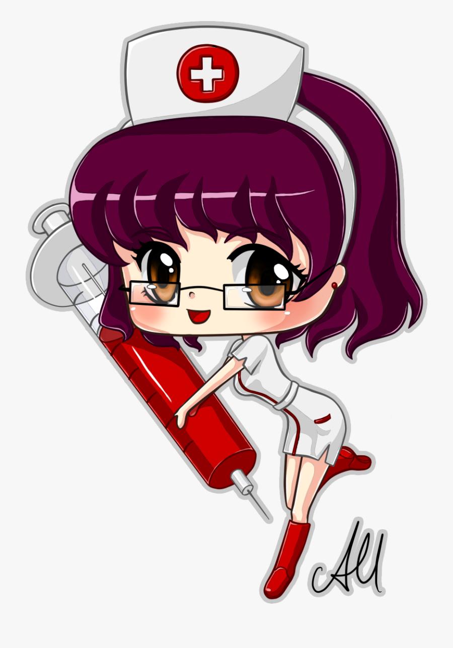 Hospital Nurse Chibi Meike By Shampie - Nurse Chibi, Transparent Clipart