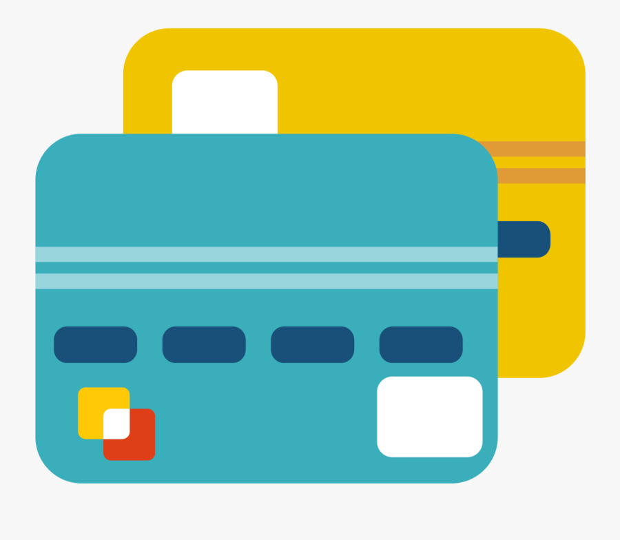 Credit Card Icon Png, Transparent Clipart