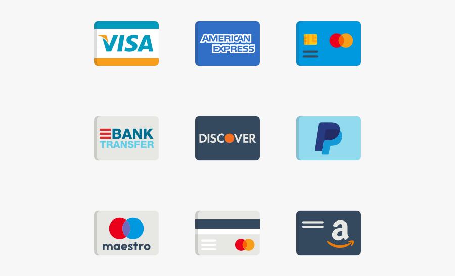 15 Credit Card Logos Png For Free Download On Mbtskoudsalg - Transparent Payment Method Icons, Transparent Clipart