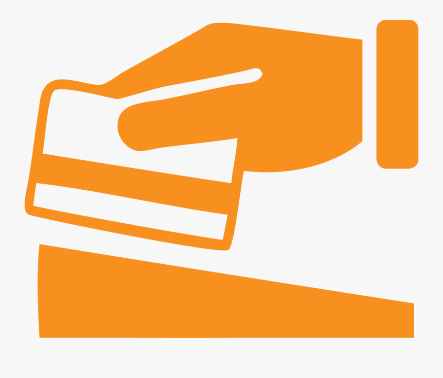 From Right Under Your Nose, Save It In A Carefully - Credit Card Icon Orange, Transparent Clipart