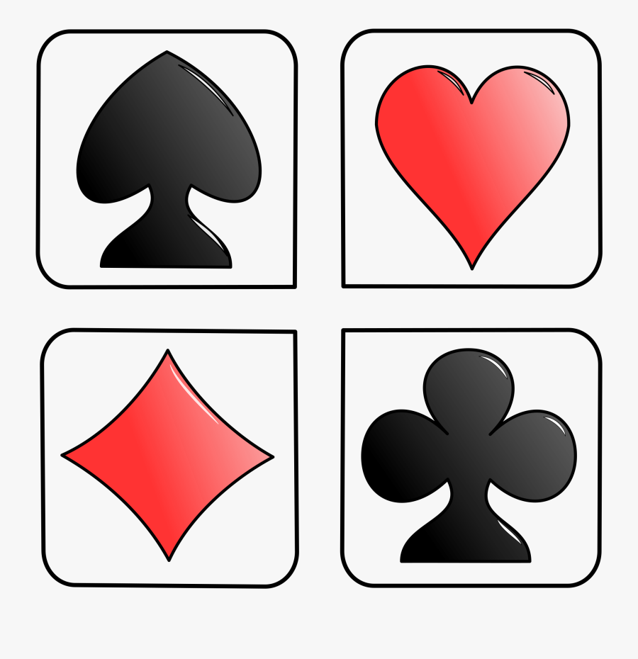 Library Card Clipart - Symbols In Card Game, Transparent Clipart