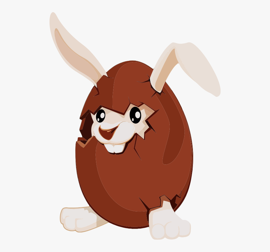Free Pages Of To - Chocolate Bunny Easter Eggs, Transparent Clipart