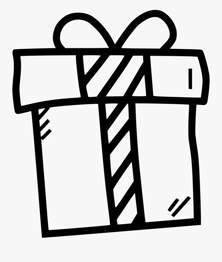 Gift Present Presentation Box Birthday Christmas Comments - Christmas Present Svg File, Transparent Clipart