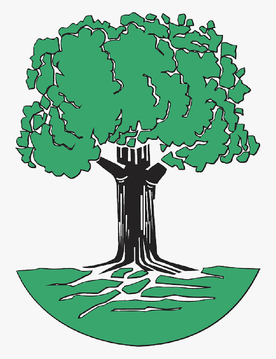 Tree With Roots Clip Art Free - Johann Pachelbel Family Tree, Transparent Clipart