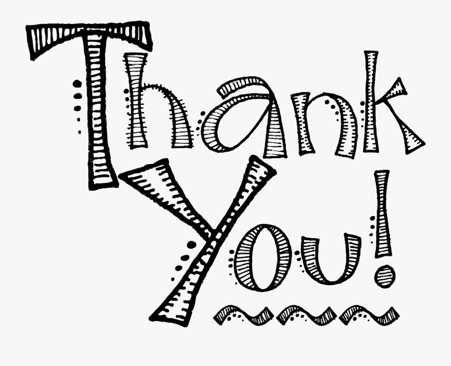 Transparent Thank You - Thank You Png, Transparent Clipart