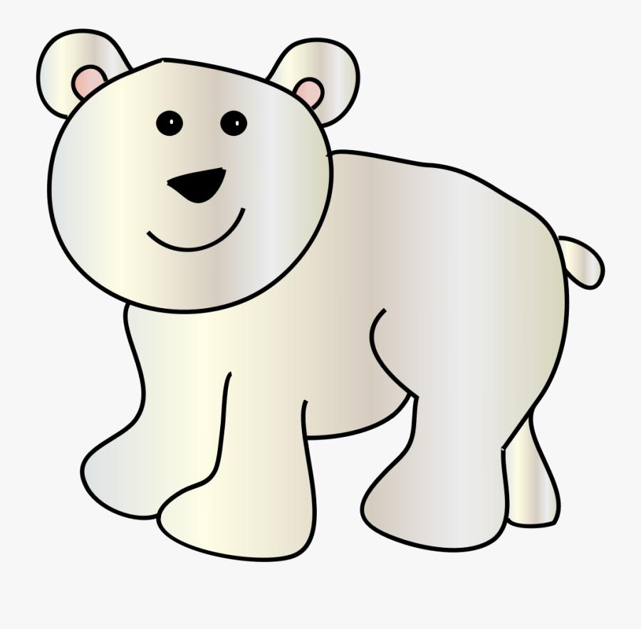 Polar Bear Clip Art Polar Bears And Clipartix - Clip Art Polar Bear Cub, Transparent Clipart