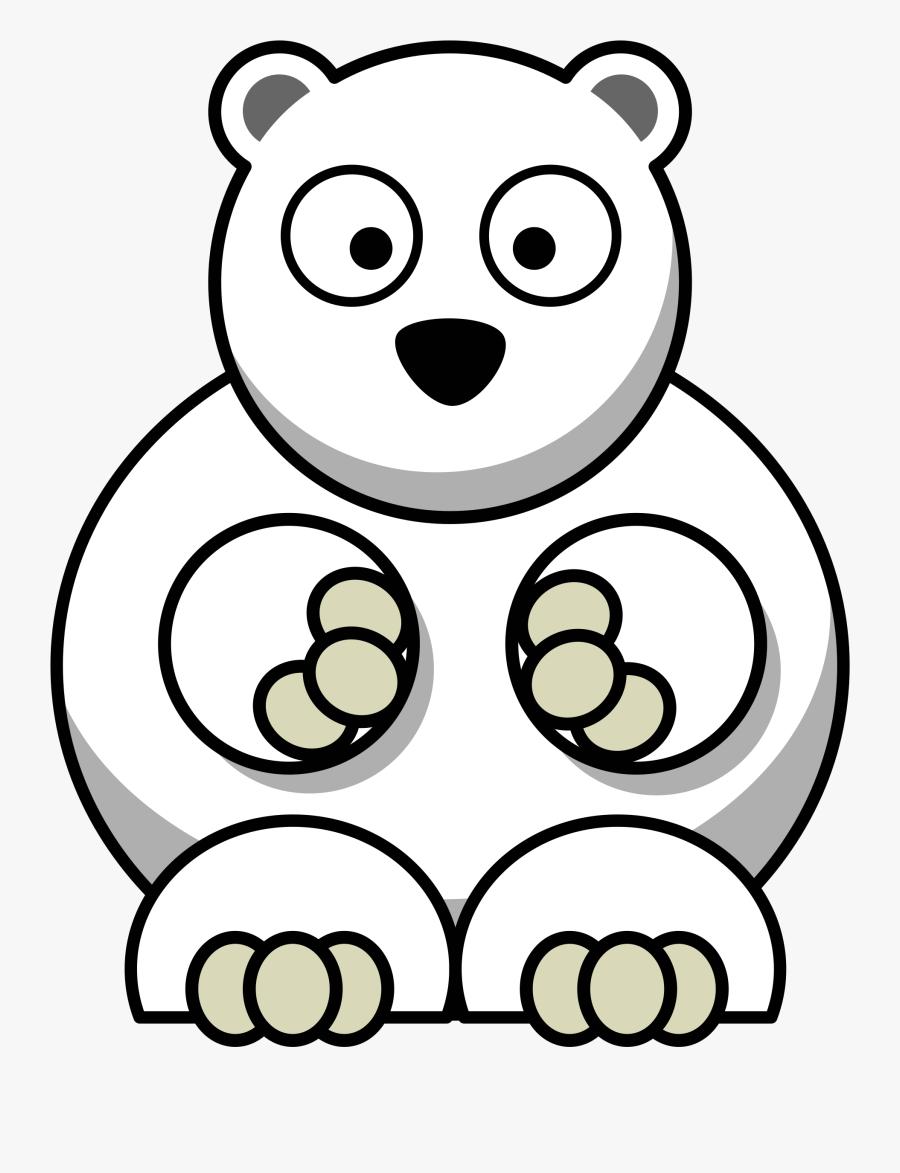 Polar Bear Remix - Cartoon Polar Bear Transparent, Transparent Clipart