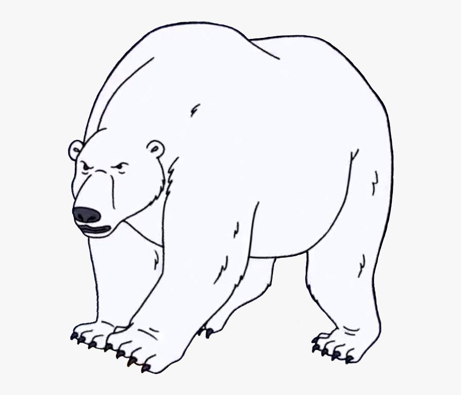 Polar Bear , Transparent Cartoons - Polar Bear Regular Show, Transparent Clipart