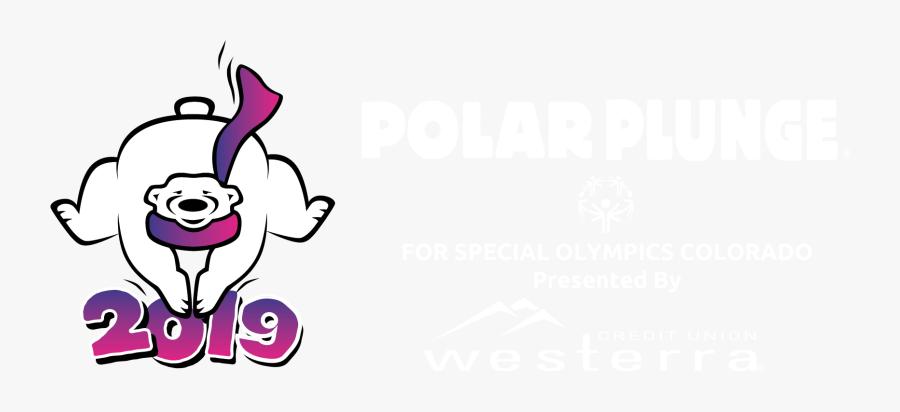 Special Olympics Colorado - Polar Plunge Polar Bear, Transparent Clipart