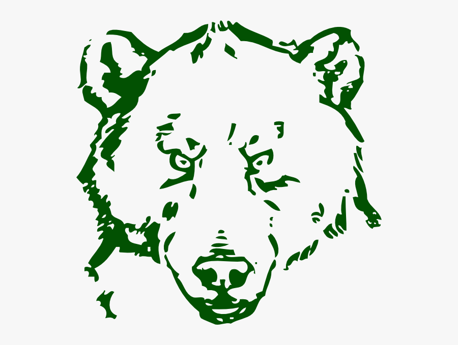 Bear Line Drawing Png, Transparent Clipart