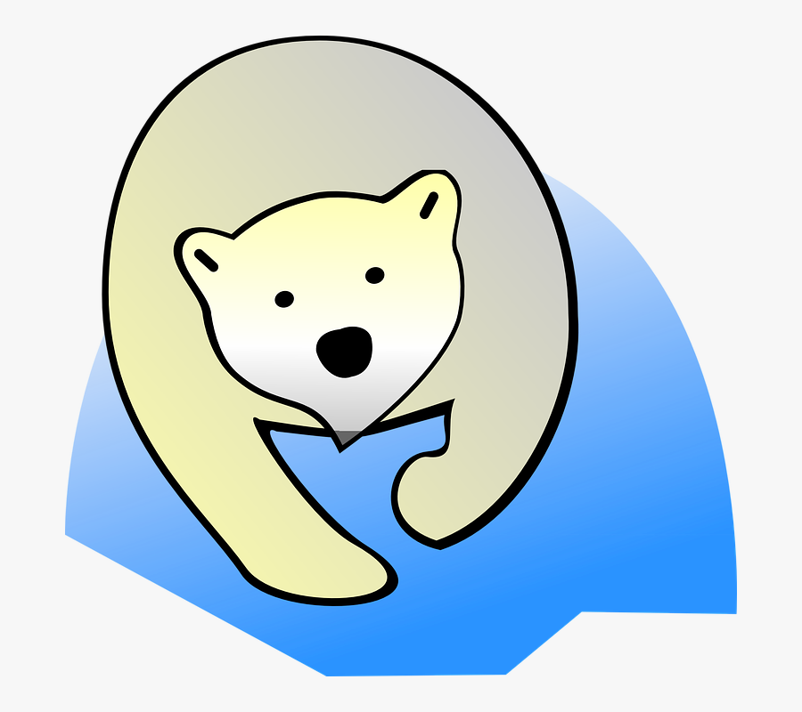 Polar Bear, Bear, Polar, Nature, Wildlife, Animal - Polar Bear, Transparent Clipart