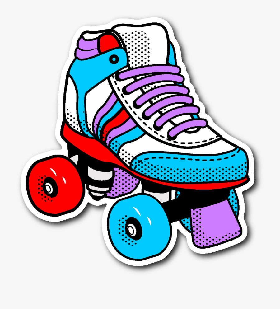 Now Available In Our Store - 80s Roller Skate Clipart, Transparent Clipart