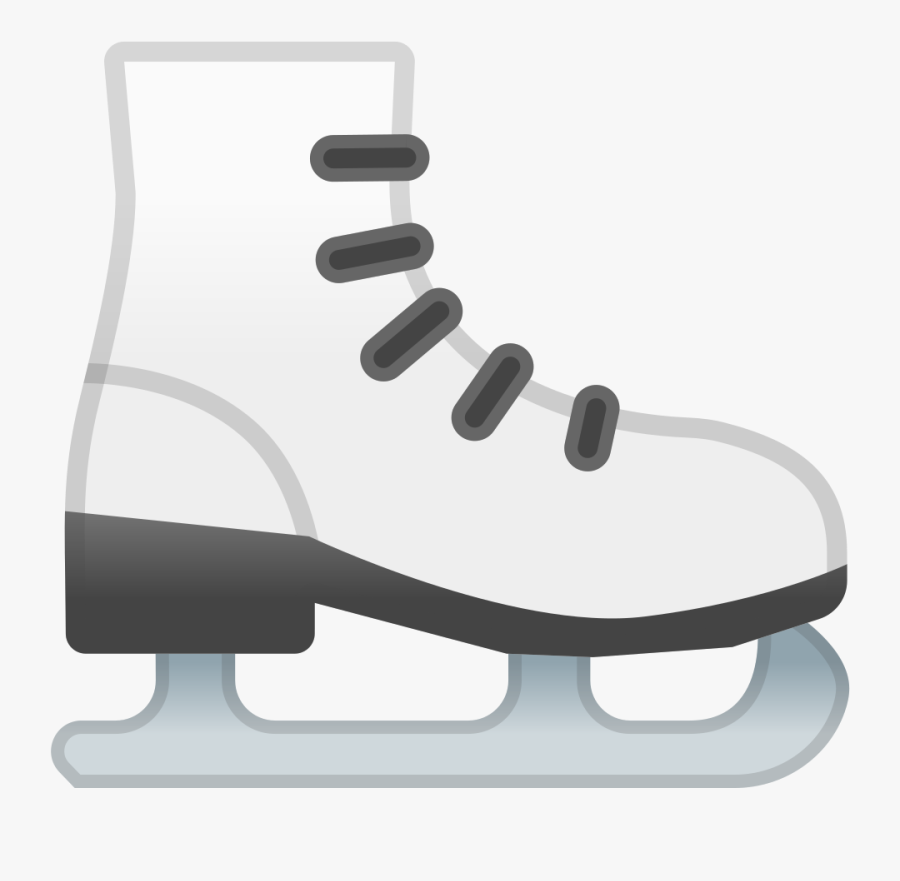 Figure Skate,ice Hockey Equipment,ice Skate,footwear,ice - Ice Skate Icon Png, Transparent Clipart