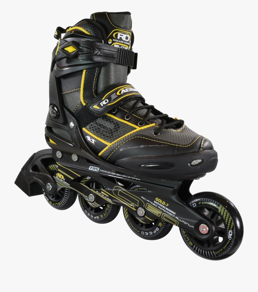 Roller Skates Png - Roller Derby Elite Inline Skates, Transparent Clipart