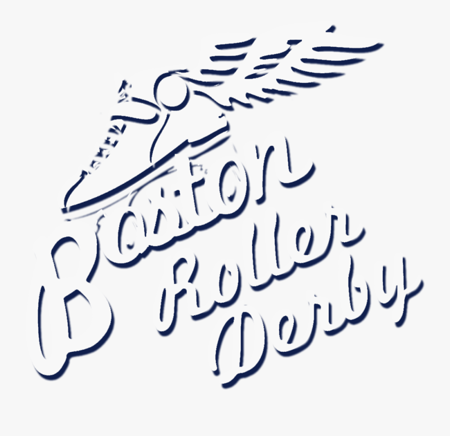 Boston Derby Dames - Roller Derby, Transparent Clipart