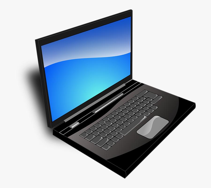 Laptop Svg Clip Arts - Transparent Background Laptop Logo, Transparent Clipart