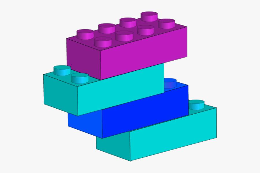 Legos Clipart 4 Block - Lego Pieces Png, Transparent Clipart