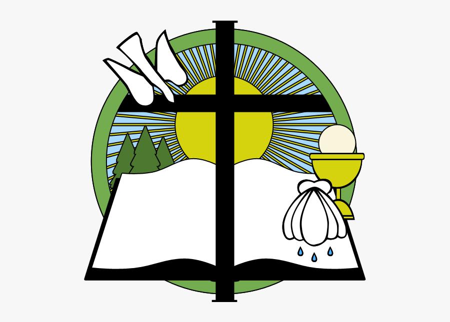 Mark Lutheran Church Logo - Clipart Luke 14 1 14, Transparent Clipart
