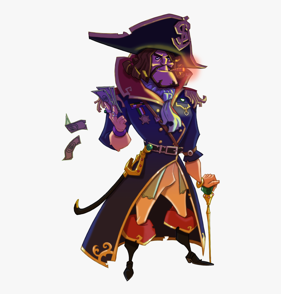 News Clipart News Person - Hector Barbossa, Transparent Clipart