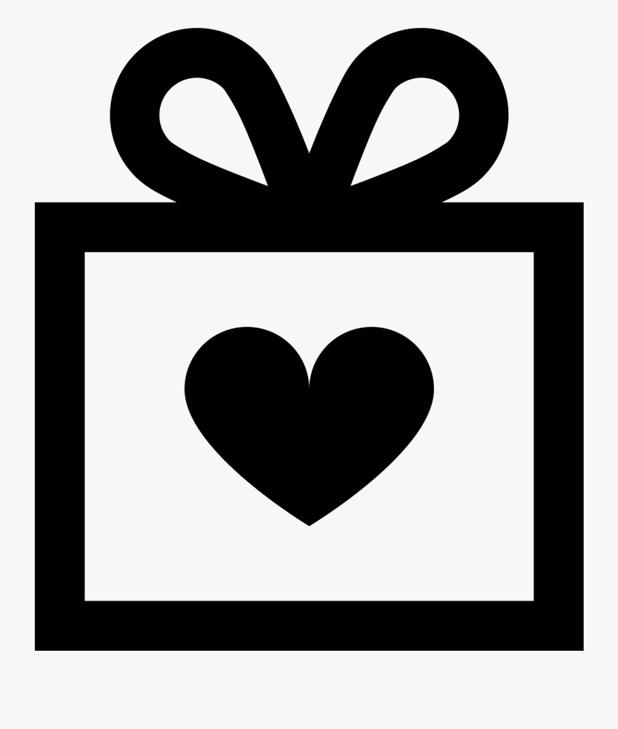 Wedding Gift Icon Free - Wedding Gift Icon Png, Transparent Clipart