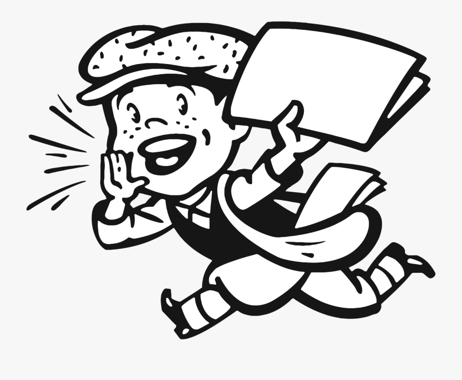 Extraextrareadallaboutit Explore On Paper - Extra Extra Read All About It Cartoon, Transparent Clipart