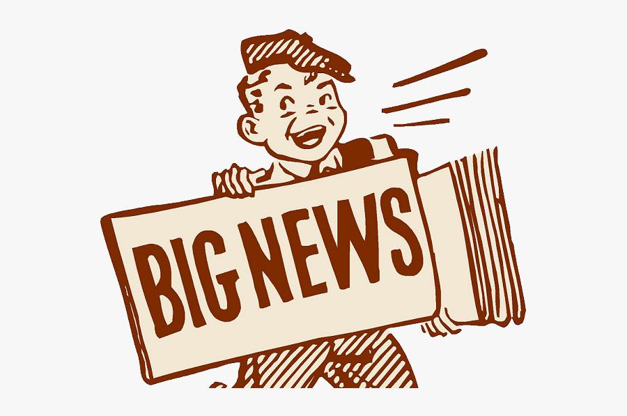 Clip Art Big News Clipart - Big News Coming , Free Transparent Clipart -  ClipartKey