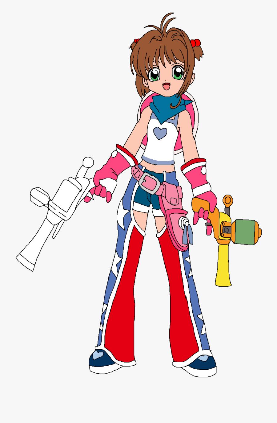 "Sakura Dressed As Yumi""s Wild West Kid - Ape Escape Yumi, Transparent Clipart"