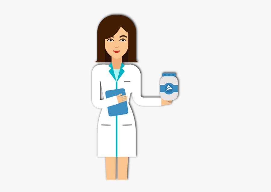 Clip Art Pharmacist Cartoon - Pharmacist Clipart Transparent, Transparent Clipart