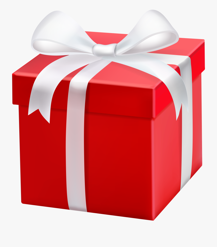 Gift Clipart Red Free - Red Gift Box, Transparent Clipart