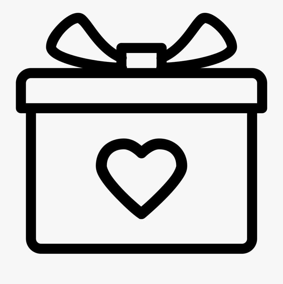 Gift Icon Png Download - Wedding Gift Icon Png, Transparent Clipart