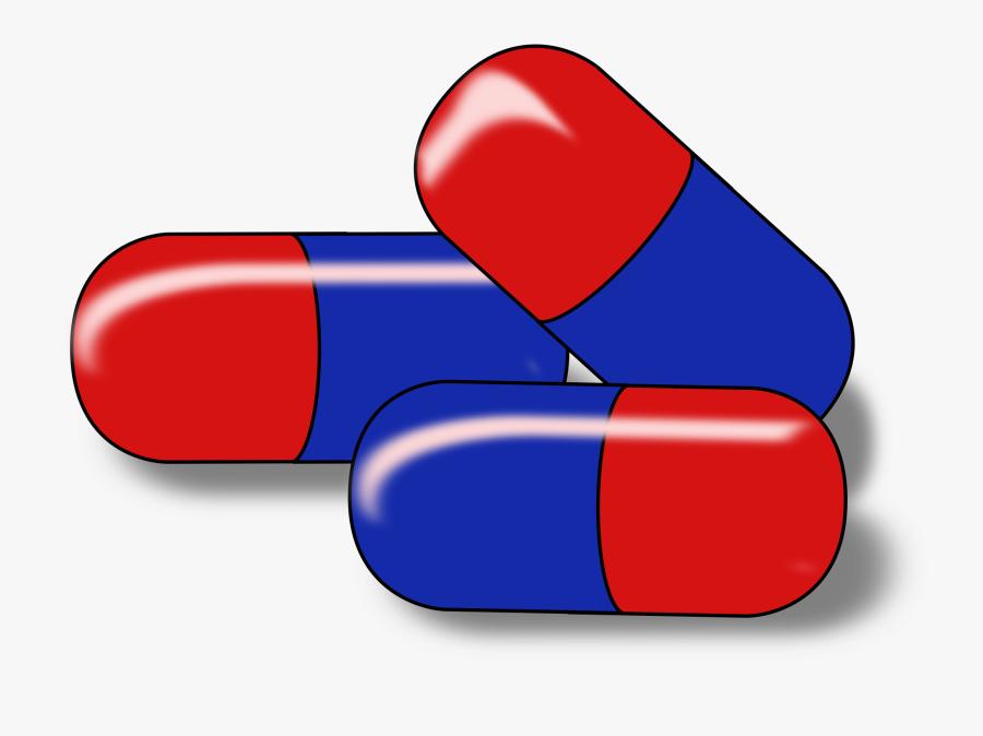 Capsules Kapseln Big Image - Pharmaceutical Drug Clip Art Pharmacist, Transparent Clipart