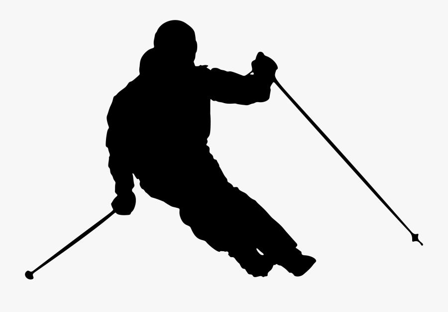 Pole - Skiing Clip Art, Transparent Clipart