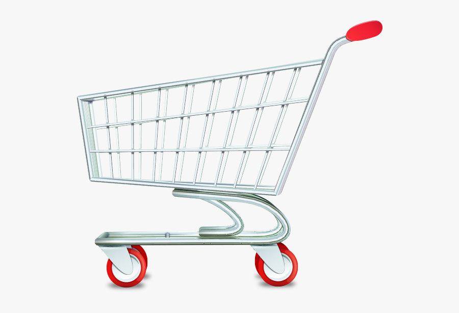 Grocery Cart Png - Empty Shopping Cart Png, Transparent Clipart
