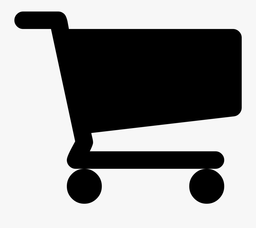 Cart Clipart Shop Now - Black Shopping Cart Logo, Transparent Clipart