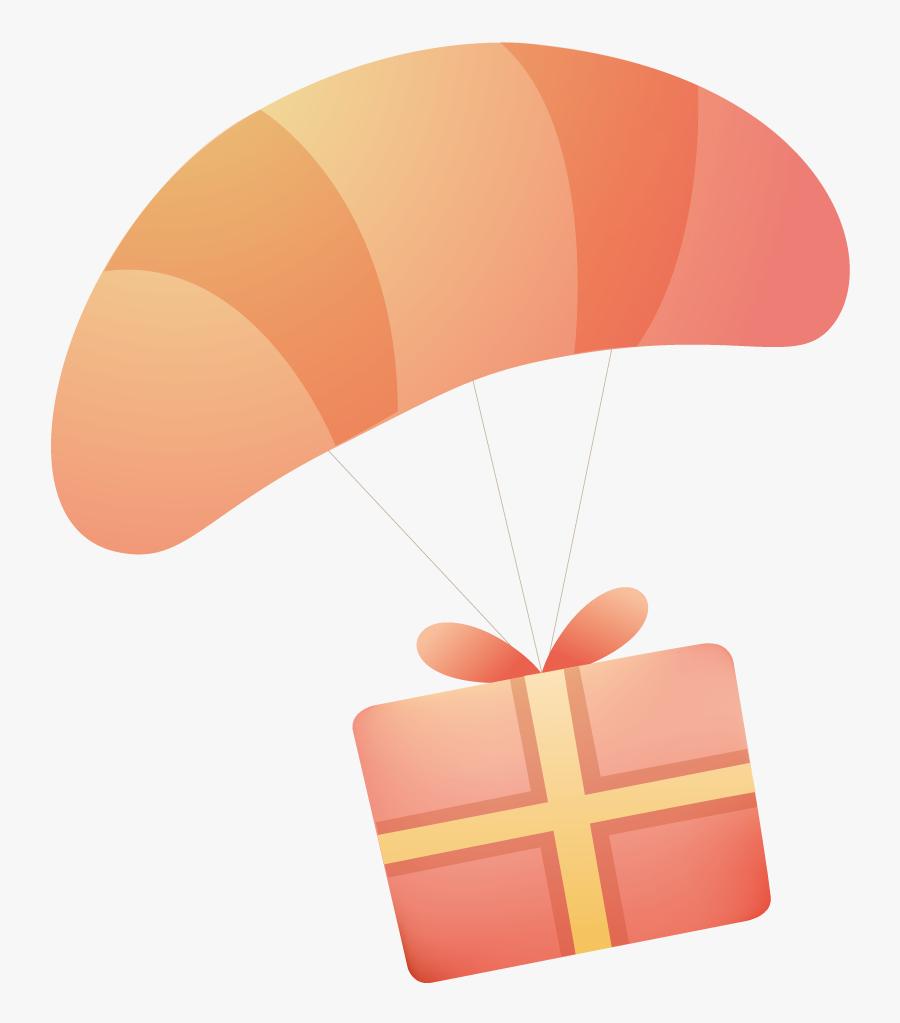 Transparent Paratrooper Png - Paragliding, Transparent Clipart