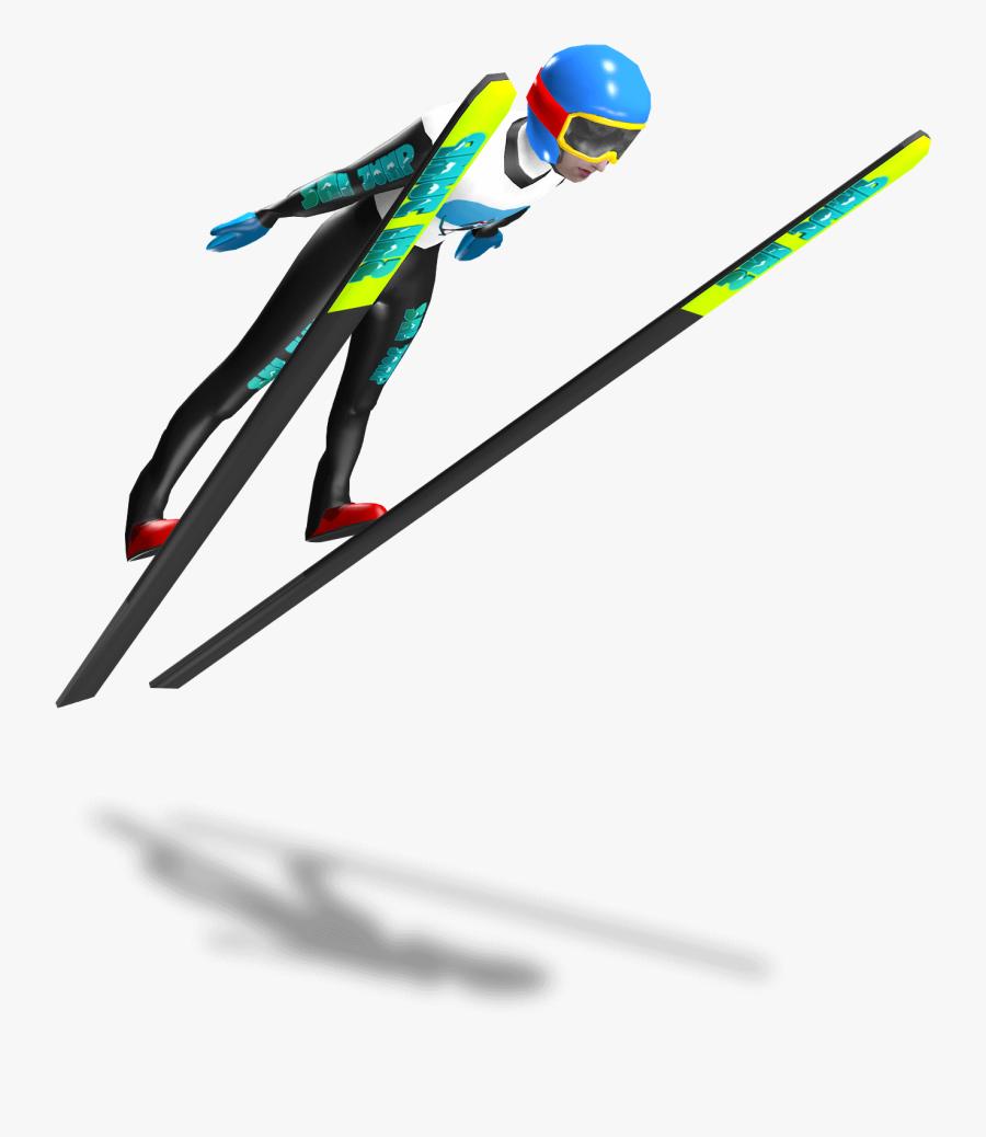 Ski Jump Vr - Ski Jumping Png, Transparent Clipart