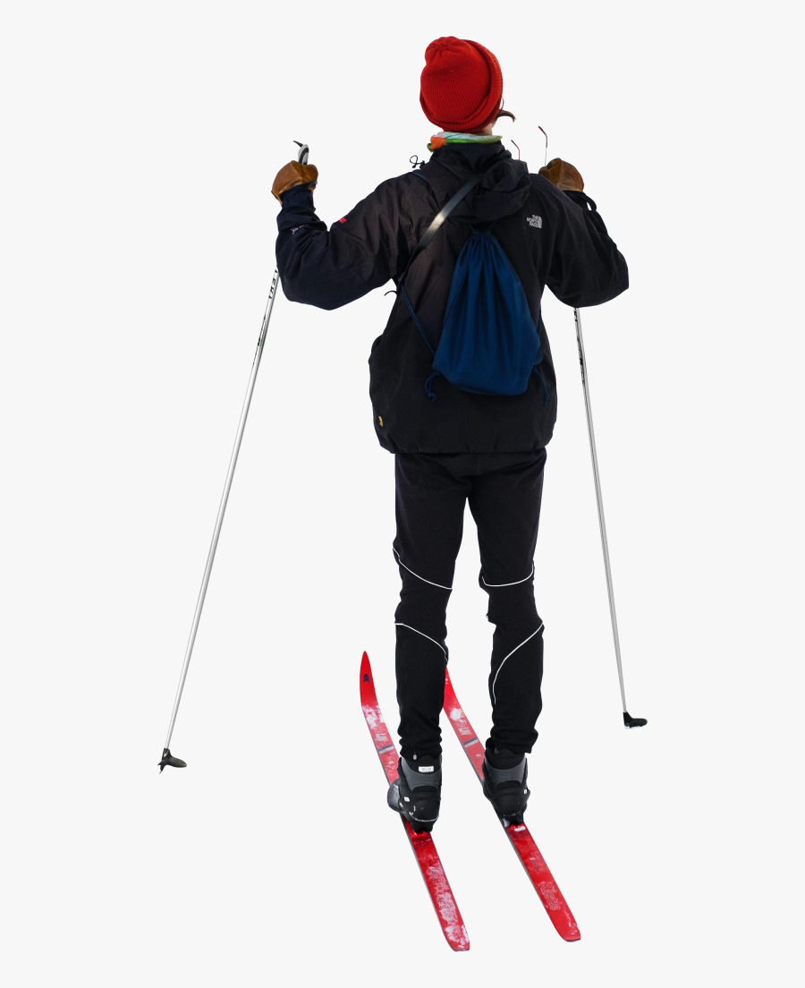 On Cross Country Skis Png Image - Skis Png, Transparent Clipart