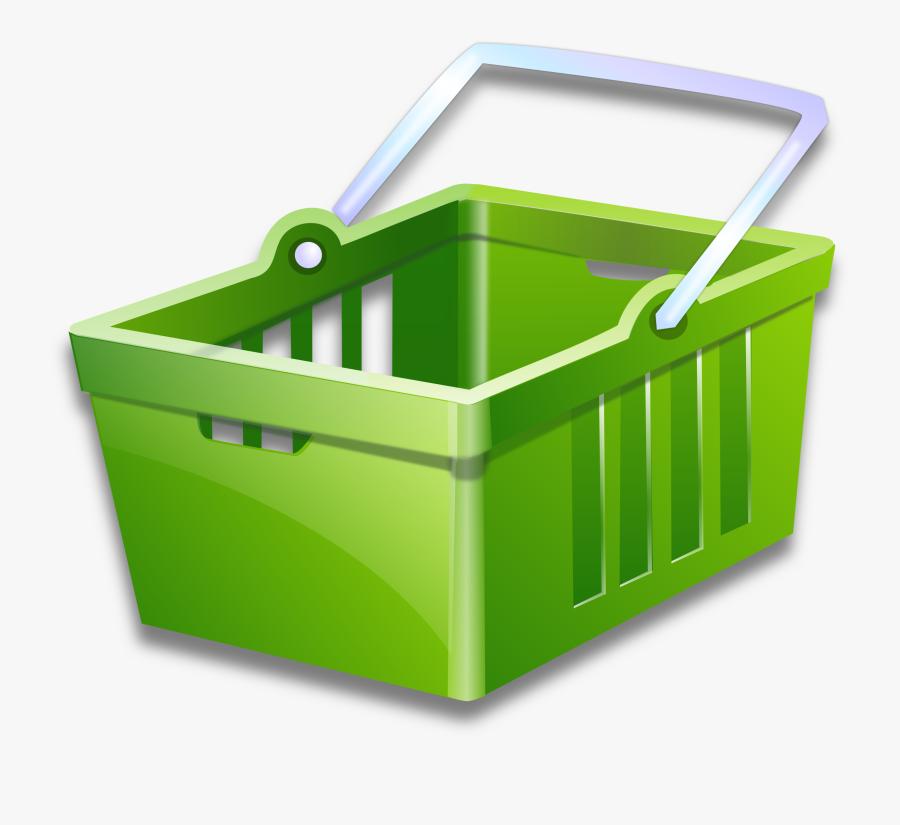Transparent Basket Png - Online Shopping Clipart, Transparent Clipart