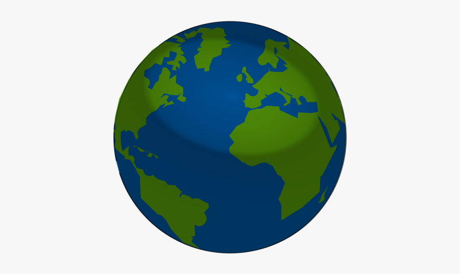 Globe,planet,sphere - Earth, Transparent Clipart