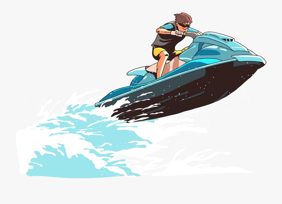 Jet Ski Png Free Download - Jet Ski Logo Png, Transparent Clipart