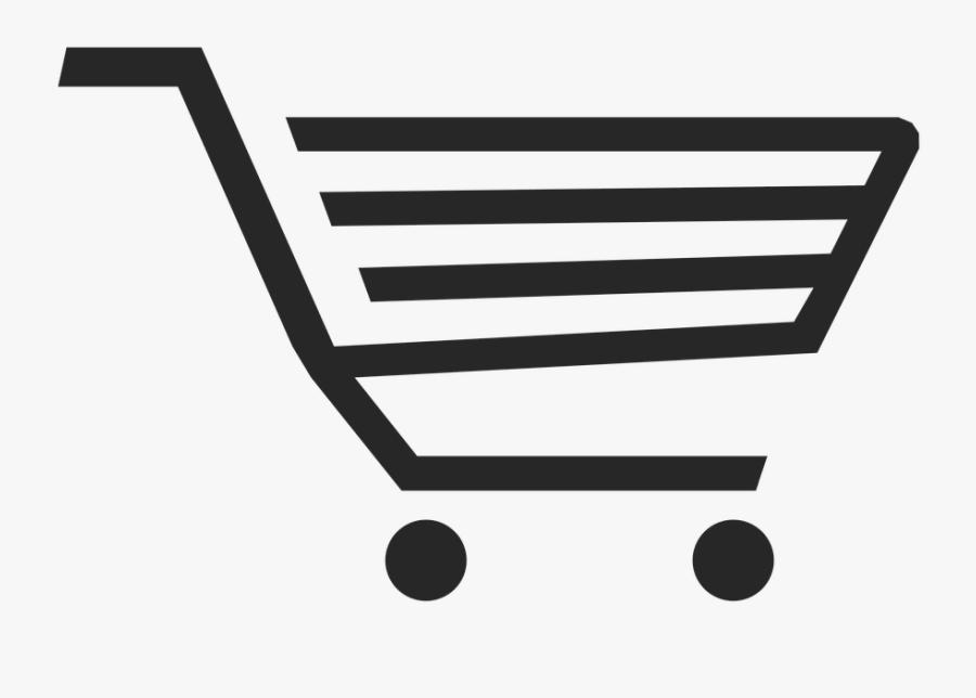 Transparent Shopping Carts Clipart - Online Shopping Cart Png, Transparent Clipart