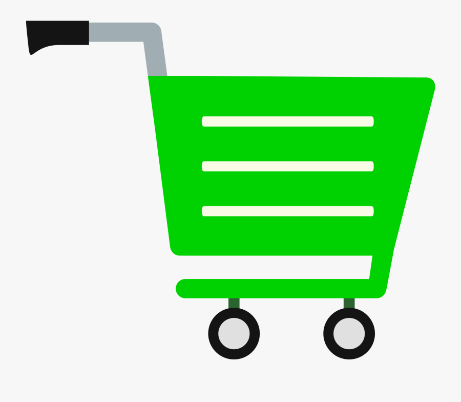 Shopping Cart Clipart Cute, Transparent Clipart