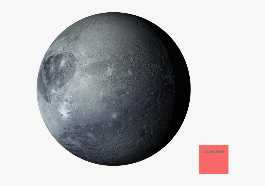 Pluto Clipart Transparent Background - Pluto Planet Clip Art, Transparent Clipart