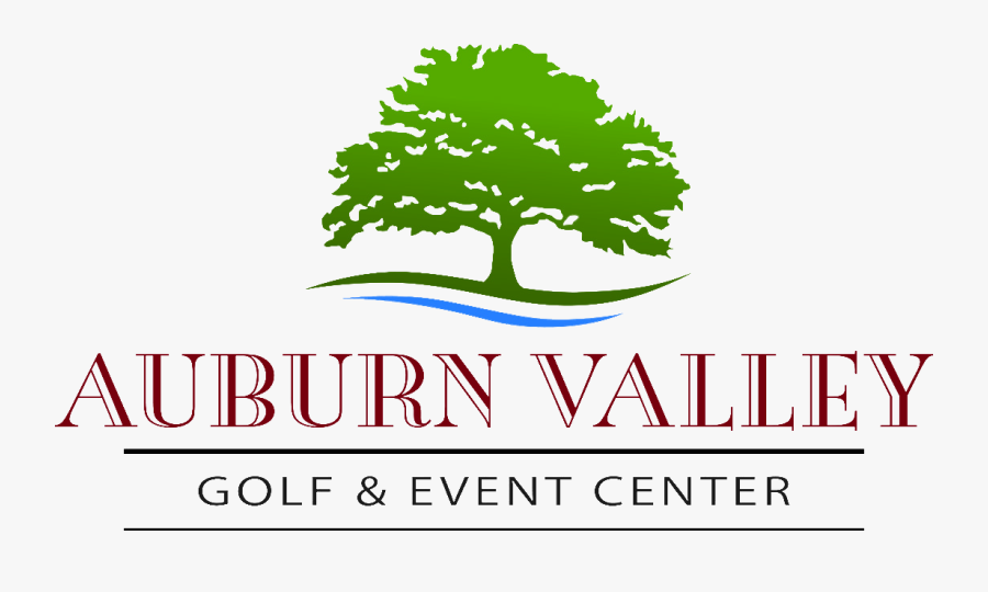 Transparent Auburn Png - Auburn Valley Golf Club Logo, Transparent Clipart