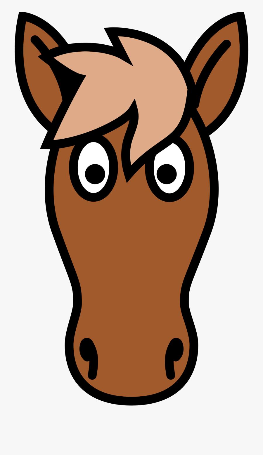 Simple Clipart Horse Head Cartoon Horse Head Clipart Free Transparent Clipart Clipartkey