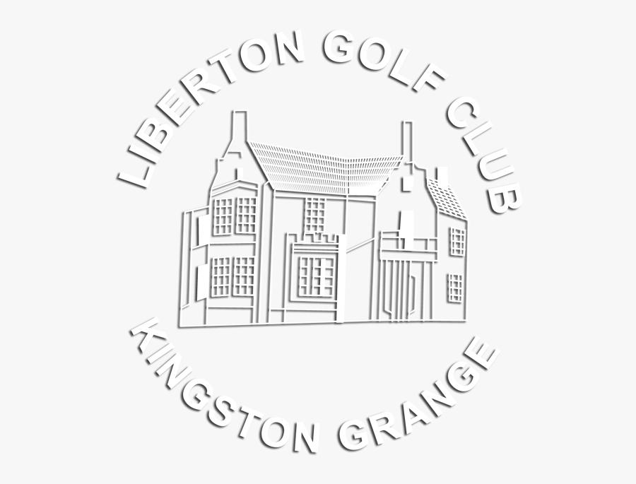 Transparent Golf Club Clipart Black And White - Liberton Golf Club Logo, Transparent Clipart