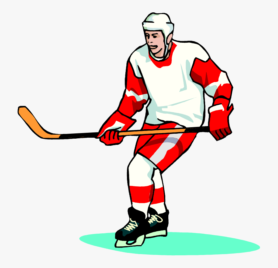 Clipart Picture of a Hockey Puck Mascot Cartoon Character