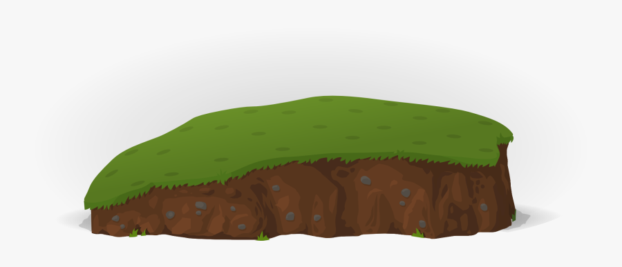 Grass On Isolated Stock - พื้น ดิน Png, Transparent Clipart